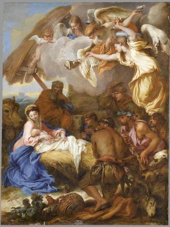 L'Adoration des Bergers-Giovanni Benedetto Castiglione-Giclee Print