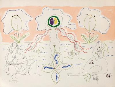 L'Âge Du Verseau : La Femme Fleur-Jean Cocteau-Premium Edition