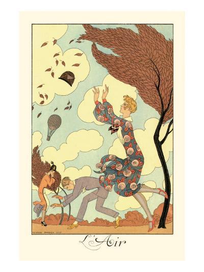 L'Air-Georges Barbier-Art Print
