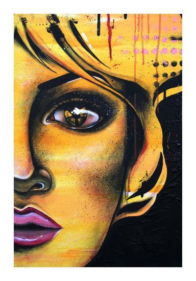 L'Ame Jaune-Vicky Filiault-Art Print