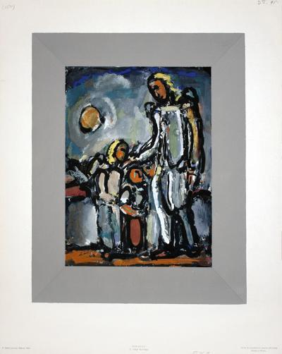 L'Ange Gardien-Georges Rouault-Collectable Print