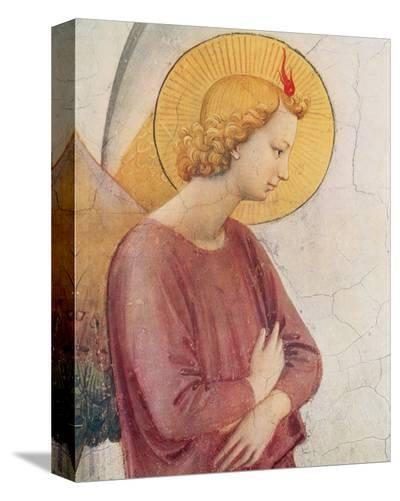 L'Angelo Annunziante, c.1387-1455 (detail)-Fra Angelico-Stretched Canvas Print