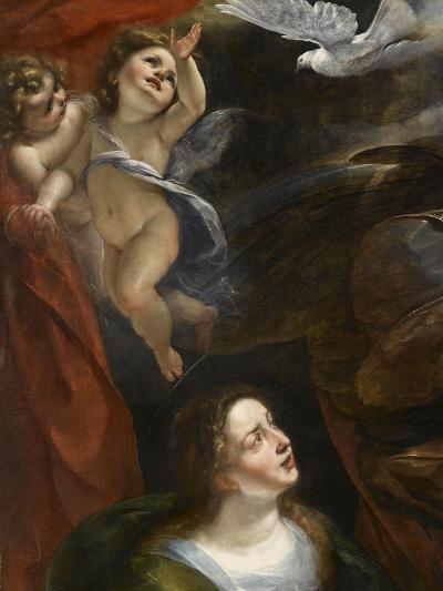 L'Annonciation-Giulio Cesare Procaccini-Giclee Print