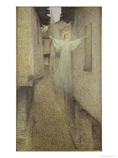 L'Apparition-Henri Martin-Giclee Print