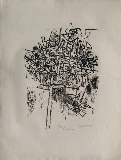 L'arbre à oiseaux-Guillaume Corneille-Limited Edition