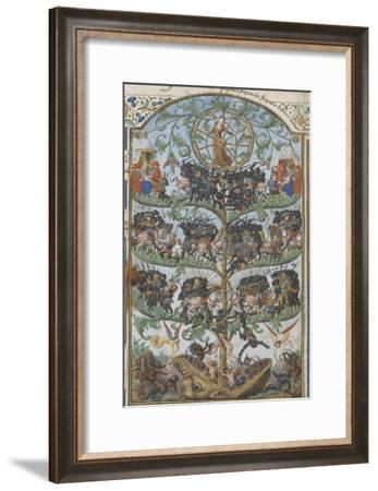 L'arbre des batailles par Honoré Bonnet--Framed Giclee Print