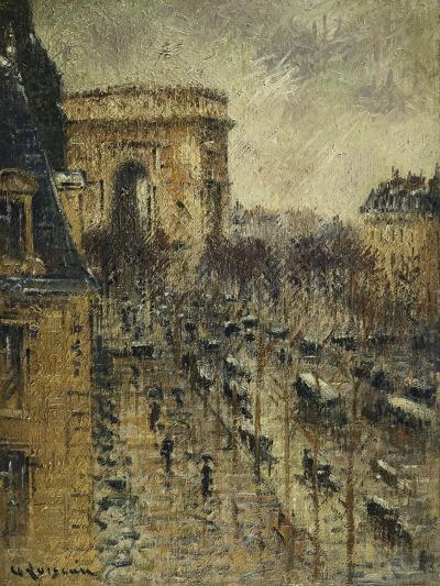 L'Arc De Triomphe, C.1930-1931-Gustave Loiseau-Giclee Print