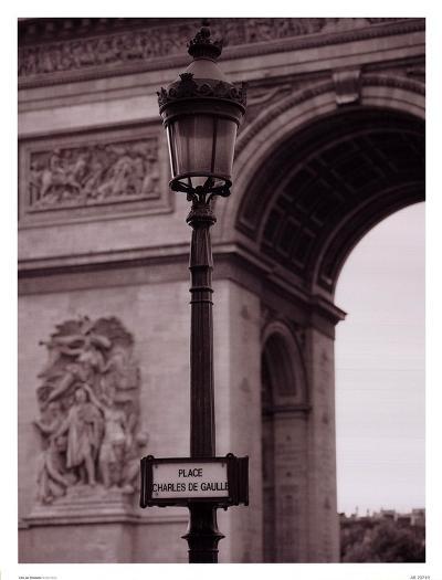 L'Arc De Triomphe-Teo Tarras-Art Print