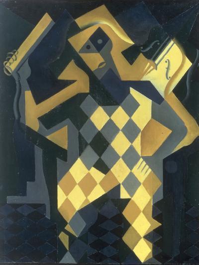 L'Arlequin au Violon, 1919-Juan Gris-Giclee Print