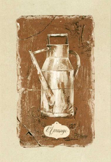 L'Arrosage-Pascal Cessou-Art Print