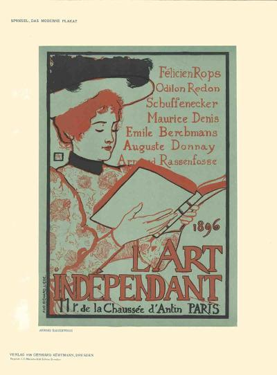 L'Art Independant-Armand Rassenfosse-Collectable Print