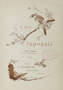 L'art japonais par Louis Gonse