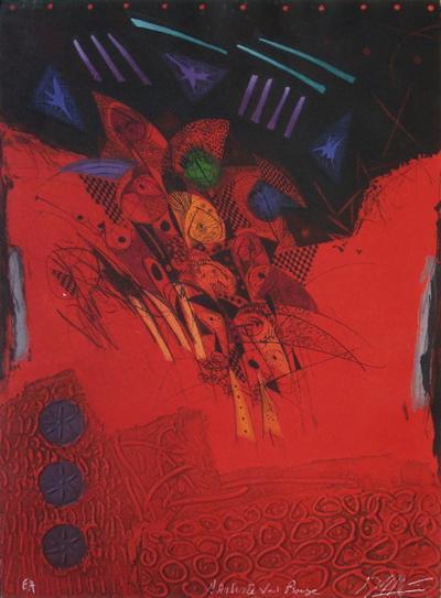 L'Artiste Voit Rouge-Georges Dussau-Premium Edition