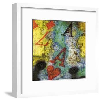 L'as De Cœur-Jean-François Dupuis-Framed Art Print