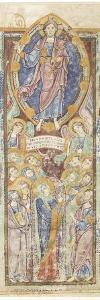 L'Ascension, feuillet de lectionnaire