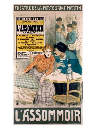 L'Assommoir--Giclee Print
