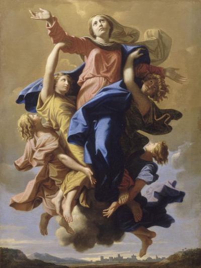 L'Assomption de la Vierge-Nicolas Poussin-Giclee Print
