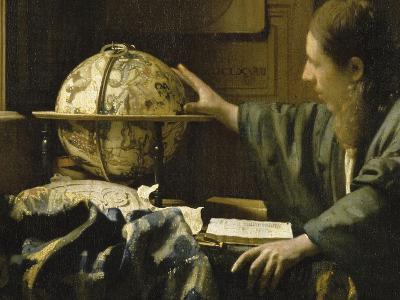 L'astronome dit aussi l'Astrologue-Johannes Vermeer-Giclee Print