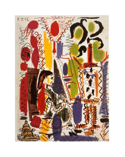 L'Atelier a Cannes-Pablo Picasso-Art Print