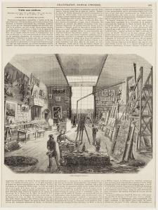 L'atelier Delacroix rue Notre-Dame de Lorette