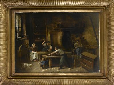 L'atelier du menuisier--Giclee Print