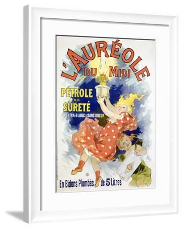 L'Aureole-Jules Ch?ret-Framed Giclee Print