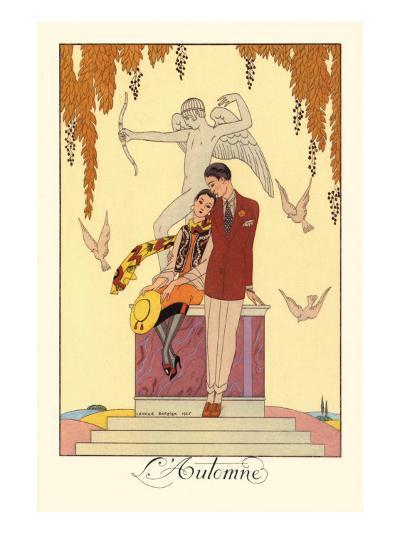 L'Automne-Georges Barbier-Art Print