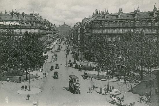 L'Avenue De L'Opera, Avenue of the Opera--Photographic Print