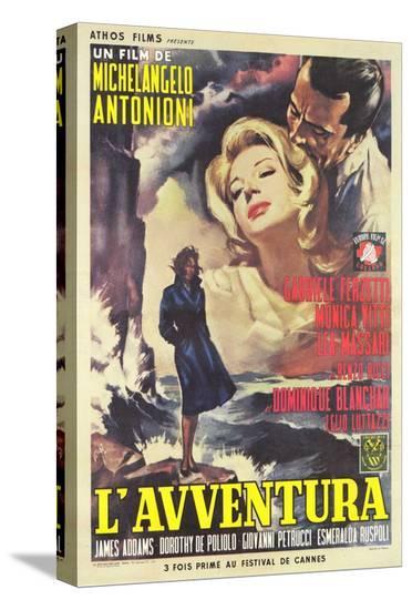 L'Avventura--Stretched Canvas Print