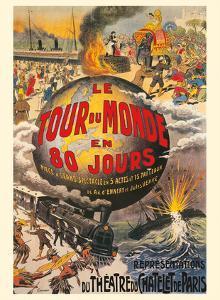 Around the World in 80 Days (Le Tour du Monde en 80 Jours) - Jules Verne - Théâtre du Châtelet by L^ Charbonnier