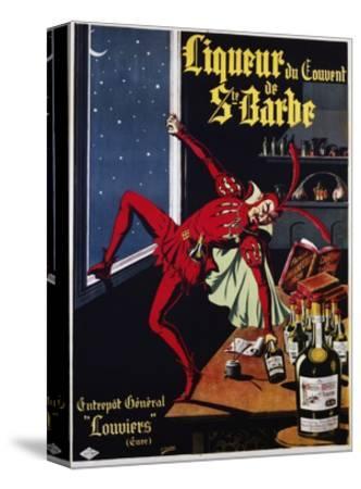 Liqueur Du Convent De Ste. Barbe Poster