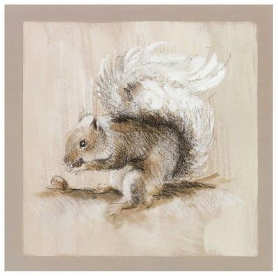 L'Ecureuil-Pascal Cessou-Art Print