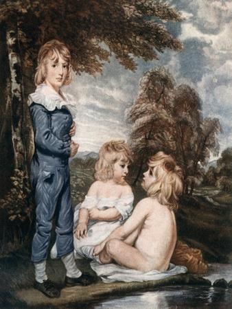 Children Bathing, 18th Century