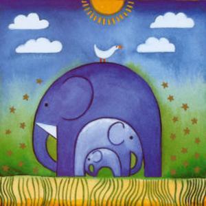 Elephants by L. Edwards