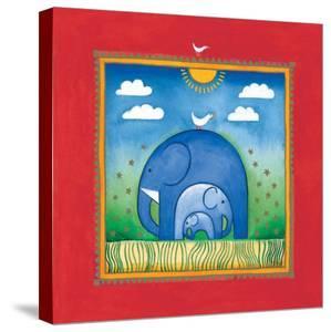 Elephants by L^ Edwards
