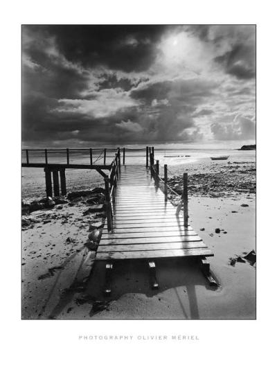 L'Embarcadere, Pointe d'Agon-Olivier Meriel-Art Print