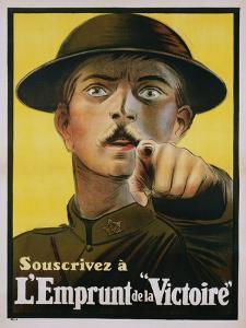 """L'Emprunt De La """"Victoire"""" Recruitment Poster"""
