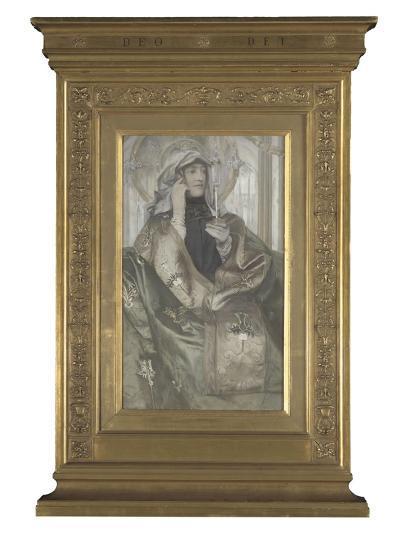 L'Encens-Fernand Khnopff-Giclee Print