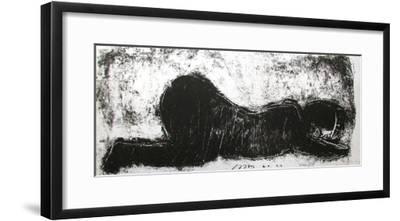 L'enfant dort-Michel Haas-Framed Collectable Print