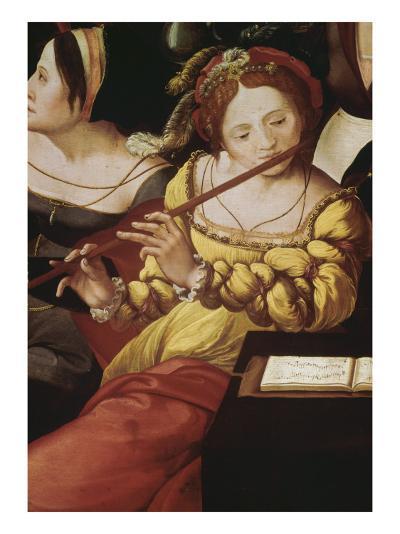 """""""L'enfant prodigue chez les courtisanes"""" dit aussi """"Allégorie des cinq sens""""--Giclee Print"""