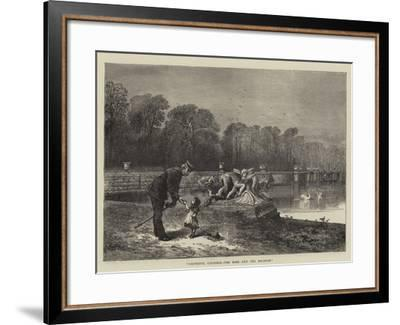 L'Entente Cordiale, the Babe and the Bugbear--Framed Giclee Print