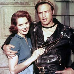 L'Equipee Sauvage THE WILD ONE by Laszlo Benedek with Marlon Brando and Mary Murphy, 1953 (photo)