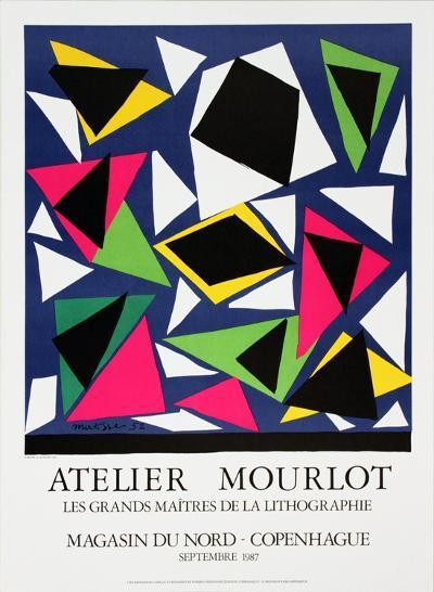 L'Escargot-Henri Matisse-Collectable Print