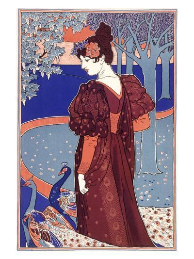 L'Estampe Modern-Louis John Rhead-Giclee Print