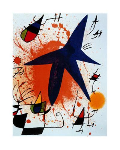 L'Etoile Bleu-Joan Mir?-Art Print