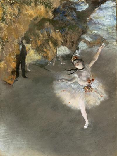 l'Etoile ou Danseuse sur sc?ne-Edgar Degas-Giclee Print