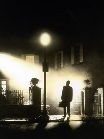L' exorciste THE EXORCIST by William Friedkin with Max von Sydow, 1973 (photo)