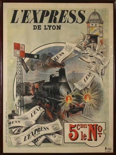 L Express-Marcus Jules-Giclee Print