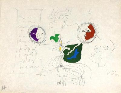 L'?ge du verseau : les lettres II-Jean Cocteau-Premium Edition