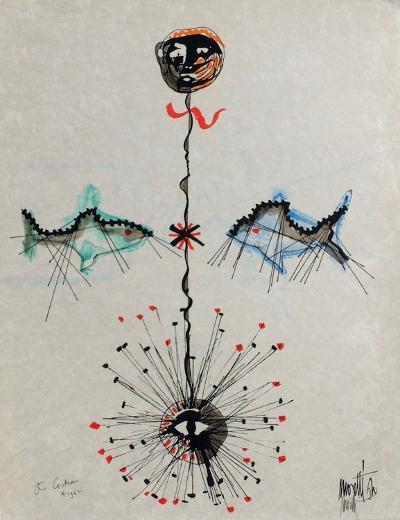 L'?ge du verseau : poissons et ?toile-Jean Cocteau-Premium Edition